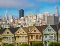 San Francisco Skyline Royalty Free Stock Photo