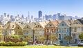 San Francisco skyline. Royalty Free Stock Photo