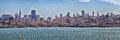 San Francisco Skyline Panorama Royalty Free Stock Photo