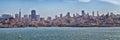 San Francisco Skyline Panorama Royalty Free Stock Photo