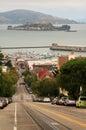 San Francisco street scene Royalty Free Stock Photo