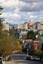 San Francisco street view Royalty Free Stock Photo
