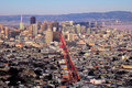 San Francisco from Twin Peaks Royalty Free Stock Photo