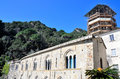 San fruttuoso abbey in camogli liguria italy unesco Stock Images
