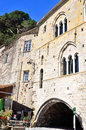 San fruttuoso abbey in camogli liguria italy unesco Stock Image
