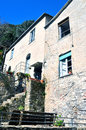 San fruttuoso abbey in camogli liguria italy unesco Royalty Free Stock Photo