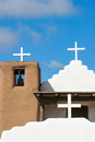 San geronimo chapel in taos pueblo usa detail from Royalty Free Stock Photos