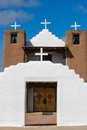 San geronimo chapel in taos pueblo usa detail from Royalty Free Stock Images