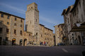 San gigminano italy medieval town of Stock Photo