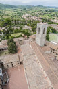 San Gimignano general view in Tuscany, Italy Stock Photos
