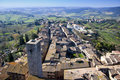 San Gimignano - Tuscan italy Stock Photo