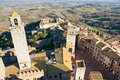 San gimignano, Tuscany, Italy. Royalty Free Stock Photography