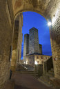 San Gimignano,Tuscany, Italy Royalty Free Stock Photo