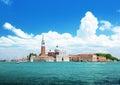 San Giorgio island, Venice, Italy Royalty Free Stock Photo