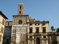 San Giovanni church. Lucca Tuscany Stock Image