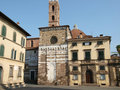 San Giovanni church. Lucca Tuscany Royalty Free Stock Photo