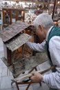 San Gregorio Armeno craftsmen Royalty Free Stock Photo