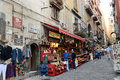 San gregorio armeno in naples italy october is the way the world of the crib and every year it is visited by tens of Stock Photography