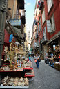 San gregorio armeno in naples italy october is the way the world of the crib and every year it is visited by tens of Stock Photos