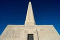 The san jacinto battleground monument in houston Royalty Free Stock Photo