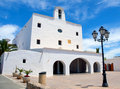 San Jose church in Ibiza Stock Photography