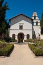 San Juan Bautista California Mission Royalty Free Stock Photo