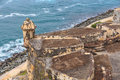 San juan fort san felipe del morro puerto rico Royalty Free Stock Photo