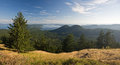 San Juan Islands in Summer Stock Photos