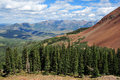San juan mountains colorado near wilson peak Royalty Free Stock Photos