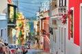 San Juan streetview Royalty Free Stock Photo