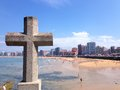 San lorenzo beach gijón asturias spain in province of Stock Photos