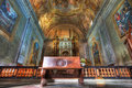 San Lorenzo cathedral interior. Royalty Free Stock Image