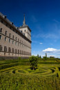 San Lorenzo de El Escorial Monastery, Spain Royalty Free Stock Image