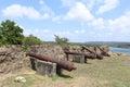 San Lorenzo fort Spanish ruins.