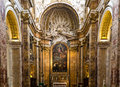 San luigi dei francesi the church of st louis of the french Stock Photography