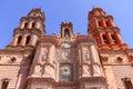 San luis potosi cathedral II Royalty Free Stock Photo