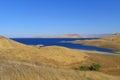 The San Luis Reservoir Royalty Free Stock Photo