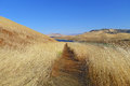 The San Luis Reservoir Royalty Free Stock Photo