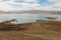 San Luis Reservoir Royalty Free Stock Photo