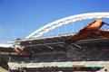 San mames demolition athletic club de bilbao stadium scene Royalty Free Stock Photo