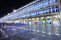 San Marco square at night Stock Photos