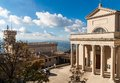 San Marino basilica Stock Photography