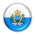 San Marino Flag Royalty Free Stock Image