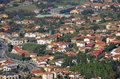San marino top view on houses of Stock Image