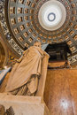 The san martin mausoleum inside buenos aires cathedral Royalty Free Stock Photography