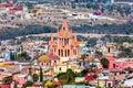 San Miguel de Allende. Royalty Free Stock Photo