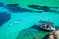 San miguel ibiza balearic islands spain europe Royalty Free Stock Photos