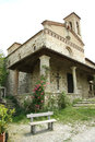 San miniato church in sicelle tuscany italy the old the chianti region of is also known for the wine production Stock Photo