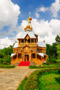 San nicola church china s heilongjiang province harbin city volga manor Royalty Free Stock Photos
