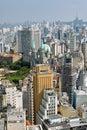 San Paolo skyline, Brasil Stock Images